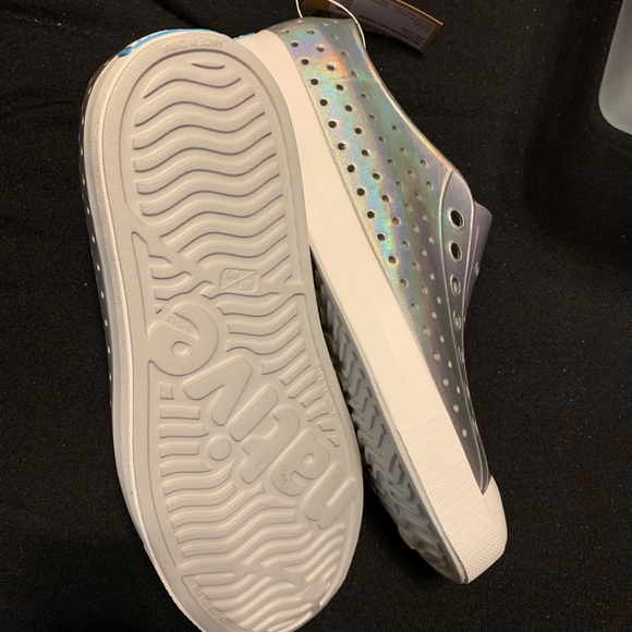 Iridescent Native shoes